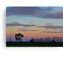 Dusk over the Lowlands Canvas Print