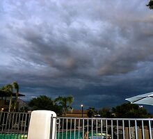 Storm is brewing in Tucson by Rebecca Dru
