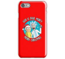 Rick & Morty -  Merry Christmas iPhone Case/Skin