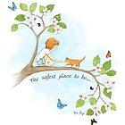 The safest place to be... by amalou