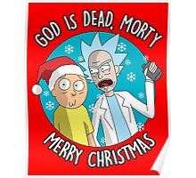 Rick & Morty -  Merry Christmas Poster
