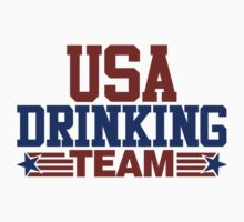 USA Drinking Team by David Ayala