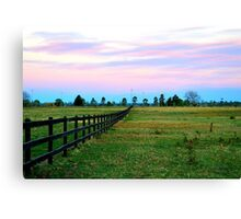Looking towards Benson's Lane Canvas Print