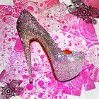 Princess Glitter Heel by Arts4U