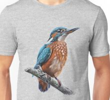 King Fisher Drawing Unisex T-Shirt