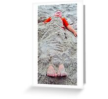 Buried Treasure Greeting Card