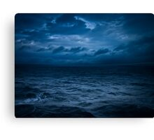 Stormy Ferry Crossing Canvas Print