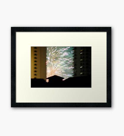 NYE Framed Print