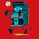 Zombie Arcade - Prints, Stickers, iPhone & iPad Cases by monochromefrog