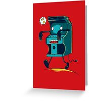 Zombie Arcade - Prints, Stickers, iPhone & iPad Cases Greeting Card