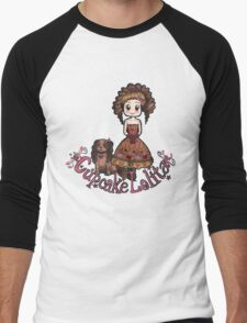 Cupcake Lolita Men's Baseball ¾ T-Shirt
