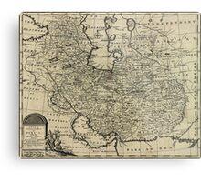 Persia Ancient Map 1747 Metal Print