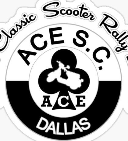 Dallas Classic Scooter Rally Sticker