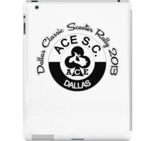 Dallas Classic Scooter Rally iPad Case/Skin