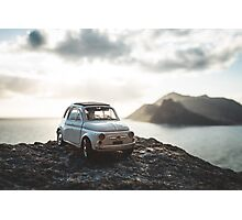 FIAT on chapmans peak Photographic Print
