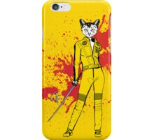 The Cat Bride iPhone Case/Skin