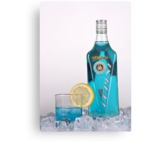 Alcohol Advertisement Metal Print