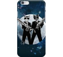 Cats In Black iPhone Case/Skin