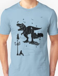 Playtime Dinosaur- Black T-Shirt