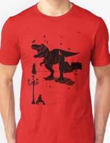 Playtime Dinosaur- Black T-Shirt