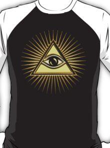 Eye Of Providence - All Seeing Eye Of God - Symbol Omniscience T-Shirt