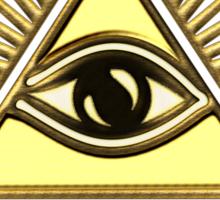 Eye Of Providence - All Seeing Eye Of God - Symbol Omniscience Sticker