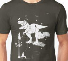 Playtime Dinosaur - White T-Shirt