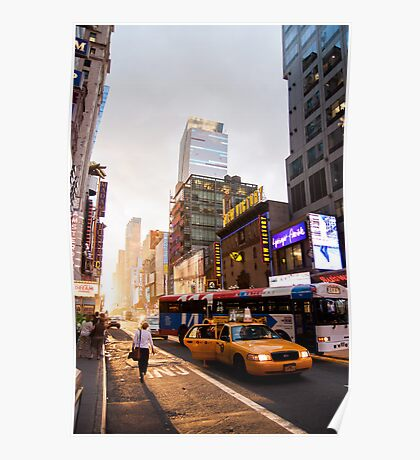 Manhattanhenge Poster