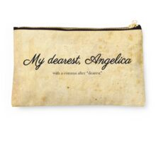 My dearest, Angelica Studio Pouch
