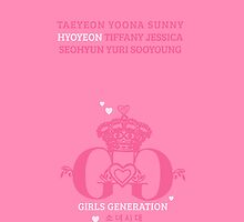 Girls Generation Hyoyeon iPhone Case by goyangi