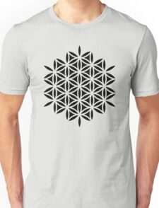 Flower of life, sacred geometry, Metatrons cube Unisex T-Shirt