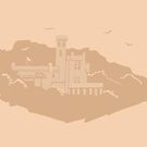 Manx Castles in Sand - Falcon Cliff by Vicky Webb