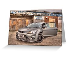 Ford RS Greeting Card