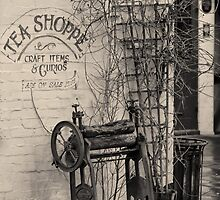 Dead ringer and the Tea Shoppe by Alan Robert Cooke