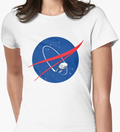 STARFLEET / NASA //without text// Womens Fitted T-Shirt