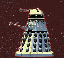 Vintage Look Doctor Who Dalek Graphic by VintageSpirit