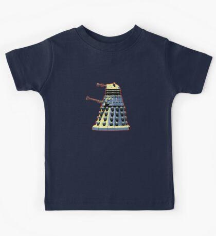 Vintage Look Doctor Who Dalek Graphic Kids Tee