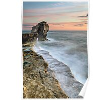 Pulpit Rock Sunset Poster