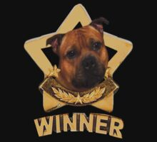 Staffordshire Bull Terrier WINNER by Matterotica