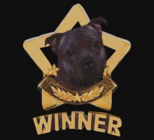 Stafforshire Bull Terrier Winner Kids Tee