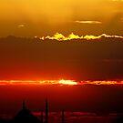 Sunset in Istanbul... by Ali Sina  Özüstün