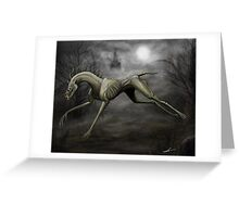 Guard of the Dead Greeting Card