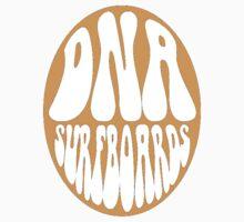 Orange DNA Surfboards circle by DNASurfboards