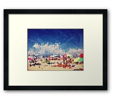 Memories tend to get blurred with the passing of time Framed Print