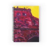 Alizarin's Towering Edifice Spiral Notebook