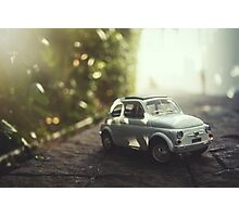 FIAT warm glow Photographic Print