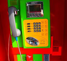 Colorful Phonebooth by Fike2308