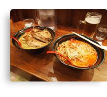 Japanese Ramen Bowls Canvas Print