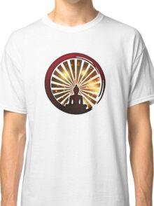 Enso Zen Circle, Meditation, Buddha, Buddhism, Japan, Sun Classic T-Shirt