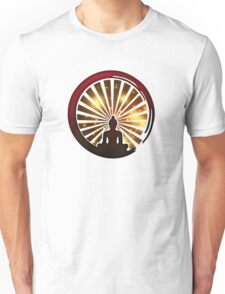 Enso Zen Circle, Meditation, Buddha, Buddhism, Japan, Sun Unisex T-Shirt